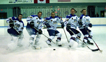 The Class of 2003 in their Anniversary Uniforms.